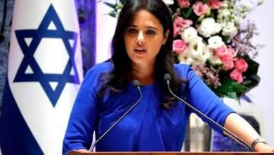 Photo of استجواب وزيرة العدل الإسرائيلية في فضائح جنسية