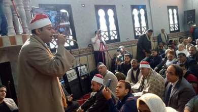 Photo of المرسي يفتتح مسجد عمر بن الخطاب بجنادة بالباجور.