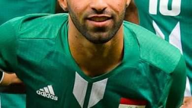 Photo of علاء مهاوي ظهير ايمن الشرطه العراقي أتمني اللعب للأهلي المصري