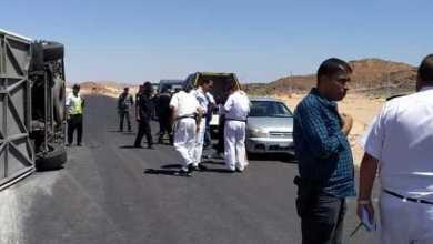 Photo of أتوبيس يقتل ضابط وأمين شرطة دهسا على الطريق الإقليمي بالجيزة