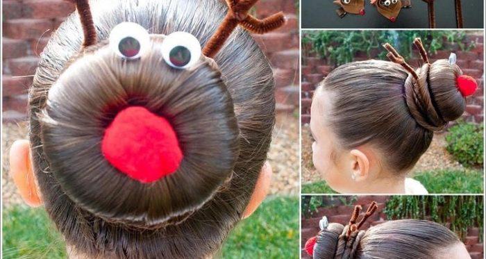 Különleges frizurák a karácsonyi buliba