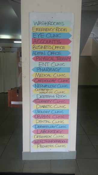 Hospitals also have clinics