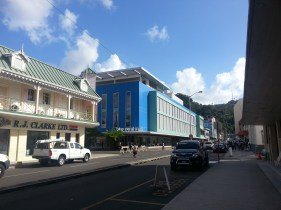 Blue Coral Mall in Castries
