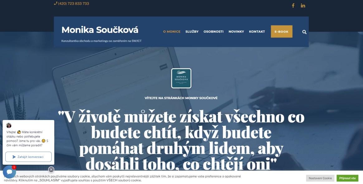 Monika Součková web