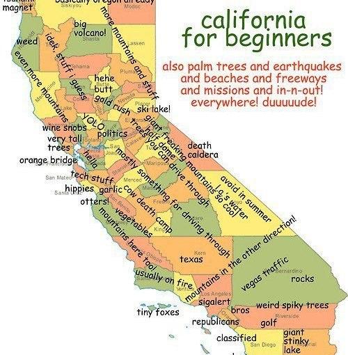 A Few Things, California…