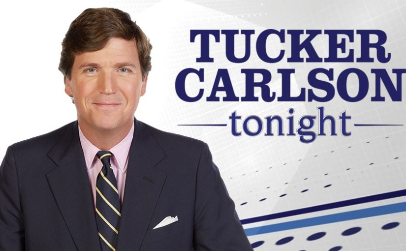 Tucker Carlson!  The World Needs Your Help!!