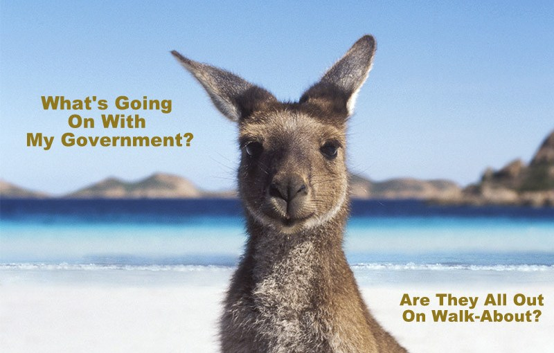 """Australia – """"Is There Anybody In There?"""""""
