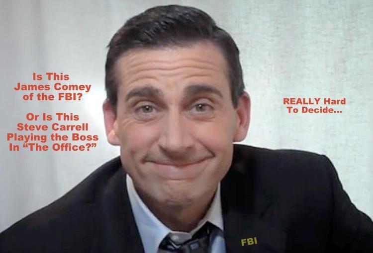 "The Comey Memos: Washington D.C. Meets ""The Office""…"