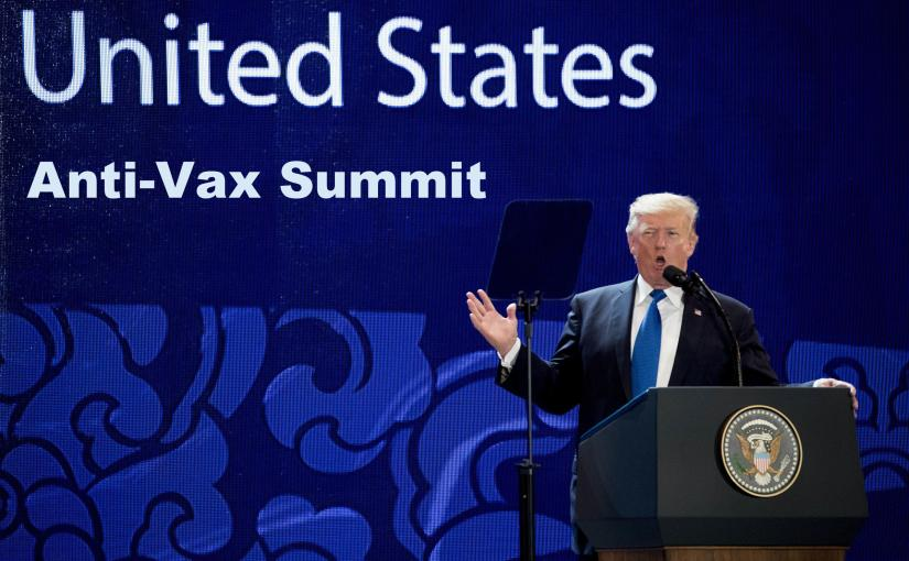 """World's #1 Anti-Vaxxer"" Calls for Trump Summit…"