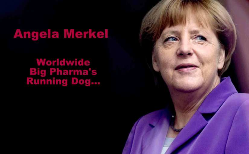 Big Pharma, Germany, Angela Merkel, and the Kohl Legacy…