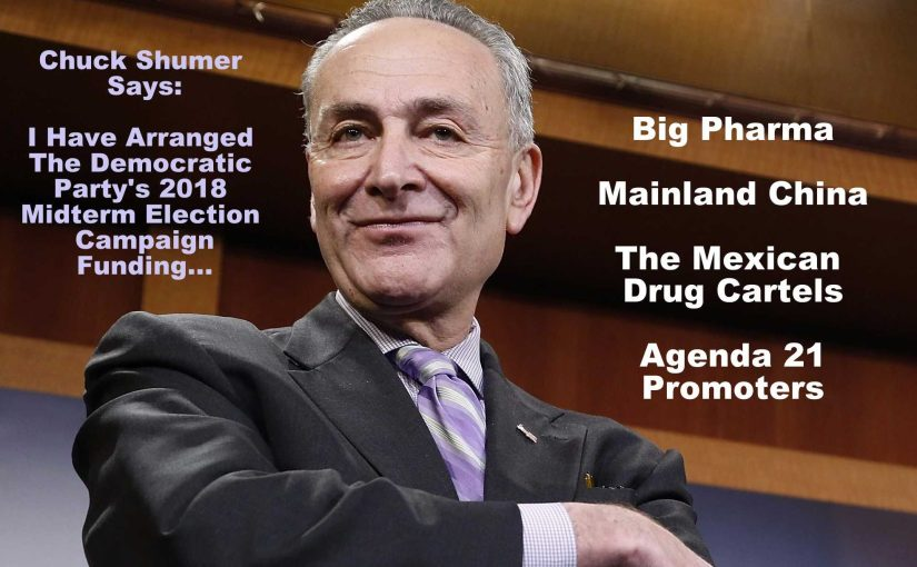 Look At Who is Funding The Democrat's 2018 Mid-Term Campaign – And You Will See Their REAL Platform…