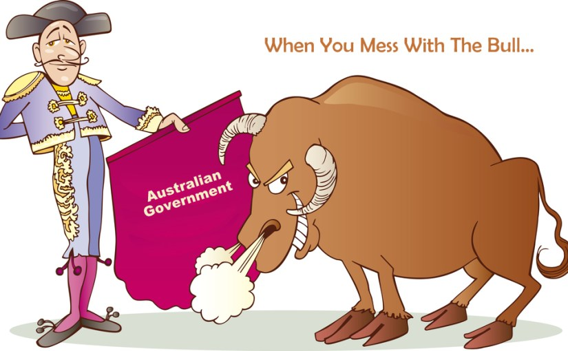 BolenReport Topples Australian Government…