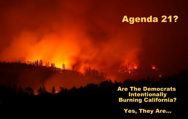 On the California Drought and Wildfires…