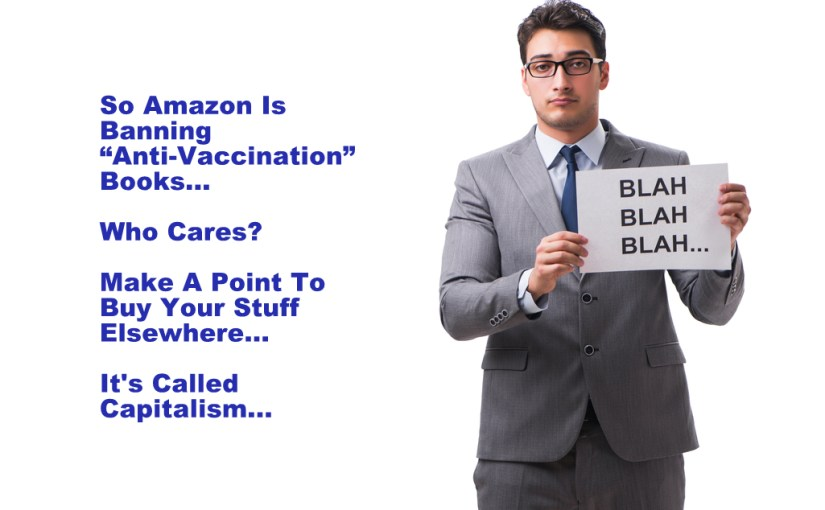 "Why Amazon Was Ordered By The Globalists To Attack The Powerful ""Anti-Vaxxer"" Movement…"