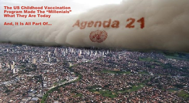 "US ""Mandatory Childhood Vaccines"" Programs Are Just One Part of The UN ""Agenda 21"" World De-Population Plan…"