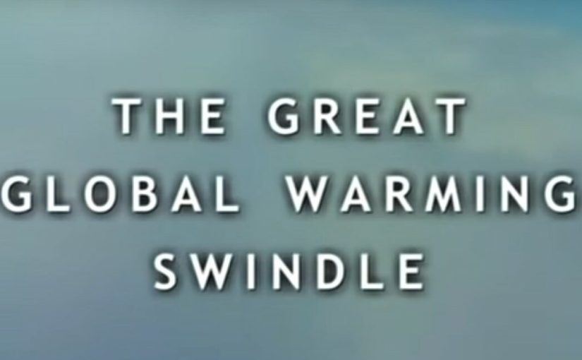 """Global Warming"" is ""International Marxism"" Not Science…"