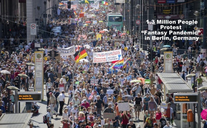 "1.3 Million Man/Woman ""Demonstration"" in Berlin…"
