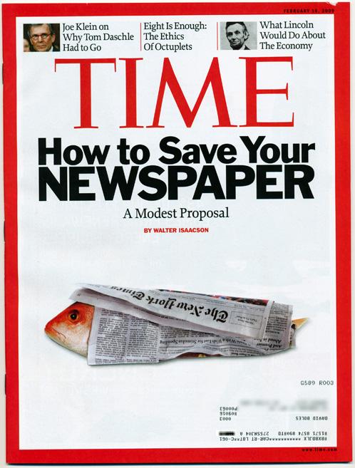 The Newspaper is Dead: Long Live the News! | David Boles, Blogs