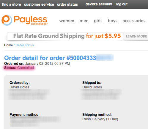 Why Payless ShoeSource are Shitheels | David Boles, Blogs
