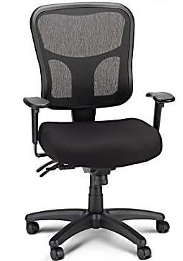 ... Staples Chair Exclusive With A Mouthful Of A Name U2014 The Tempur Pedic  TP8000 Ergonomic Mesh Mid Back Task Chair U2014 And I Knew Iu0027d Found My New  Office ...