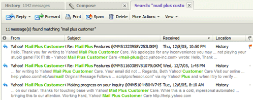 Yahoo Mail Beta