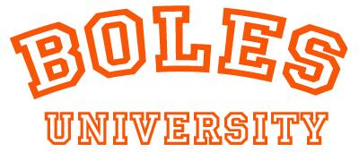 Boles University logo!