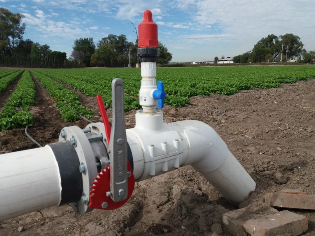 En Guanajuato promovemos el ahorro del agua y su uso eficiente en el sector agrícola a través de la Tecnificación de Riego.