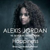 "MP3: Alexis Jordan ""Happiness Brian Cua bootleg mashup)"""