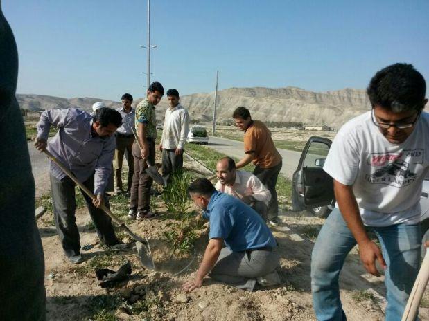 همیاری برای تکمیل بلوار تجلی
