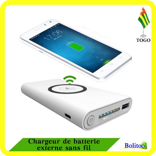 Chargeur de Batterie Externe sans Fil