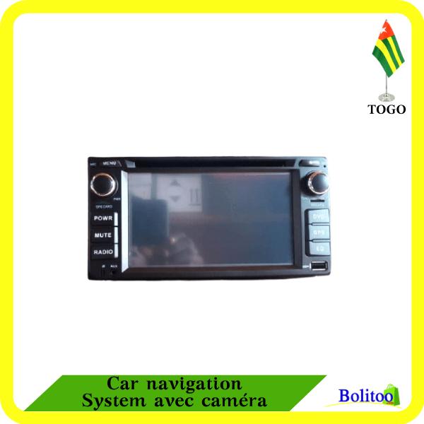 Car navigation System avec caméra