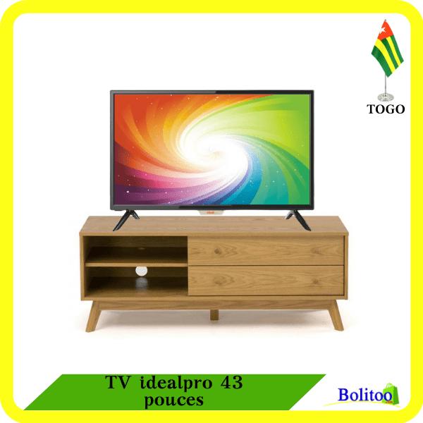 TV idealpro 43 pouces