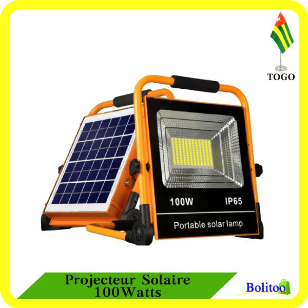Projecteur Solaire 100Watts