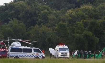 Un rescate con éxito, todos a salvo en Tailandia