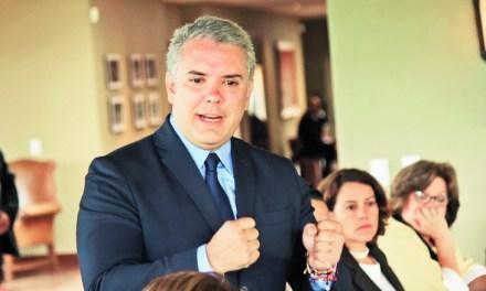 Presidente Iván Duque en el inicio de ANDICOM 2018 en Cartagena