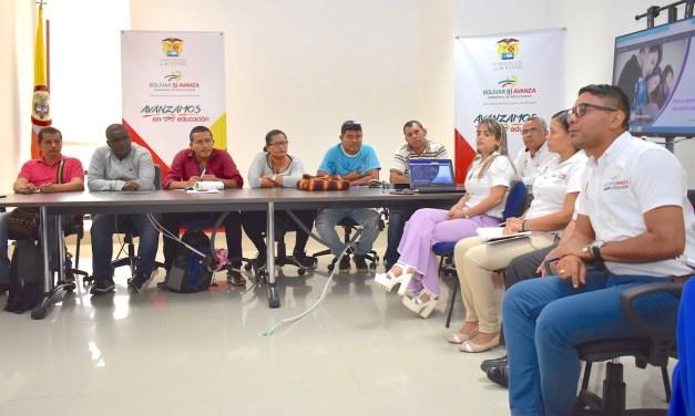 Secretaría de Educación oficializó su oferta institucional al servicio de las víctimas de Bolívar