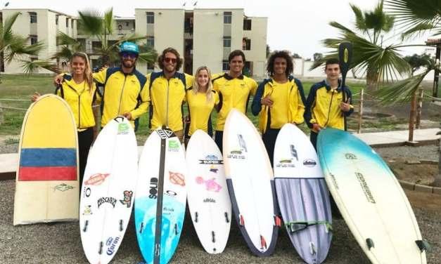 Lista Selección Colombia para Juegos Panamericanos de Surf Perú 2018