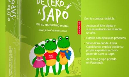 """Lanzamiento del libro """"De Cero a Sapo"""" del coach en marketing digital Julián Castiblanco"""