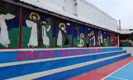 BOLIVARENSE POSITIVO: El mural religioso más grande de Colombia