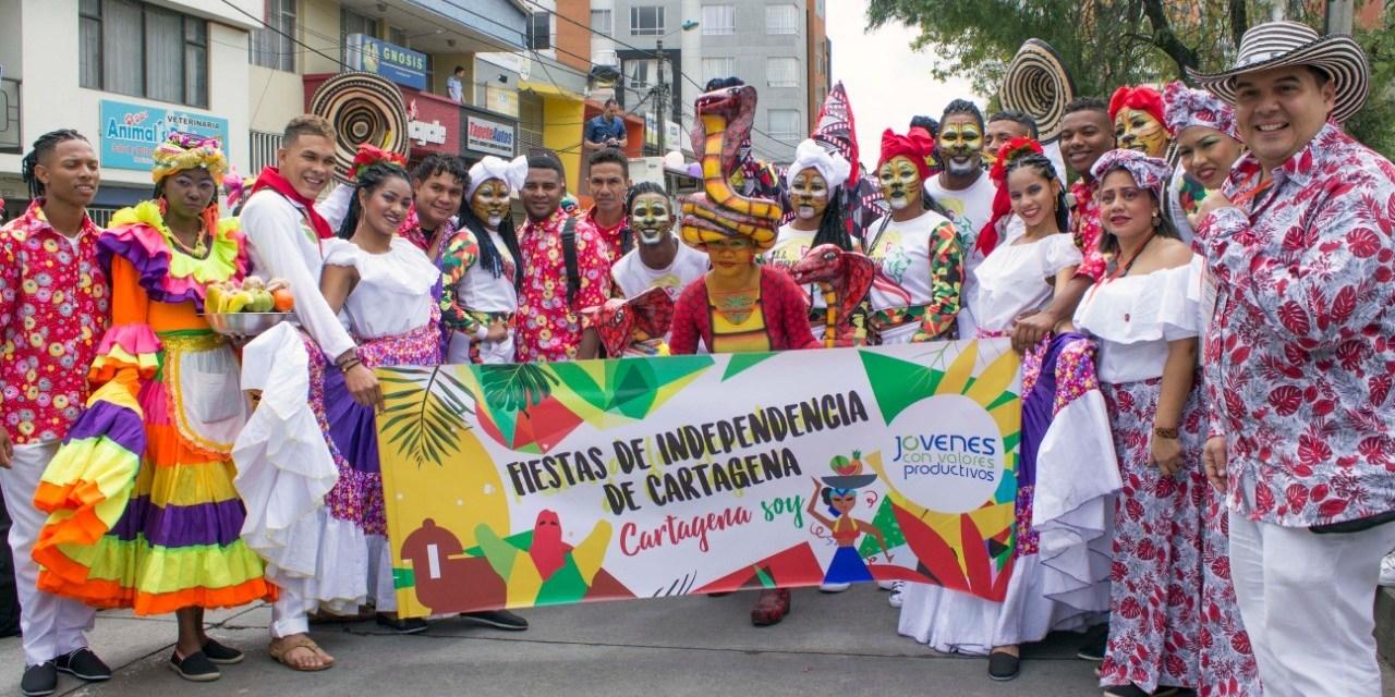 Fiestas de independencia en Pasto