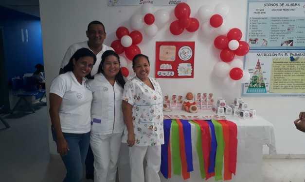 """""""Semana de la Lactancia Materna"""" en el hospital del Pozón"""