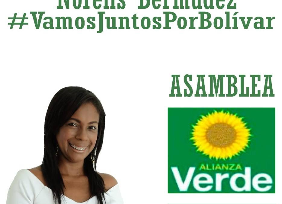 Norelis Bermudez define su proyecto para la Asamblea Departamental