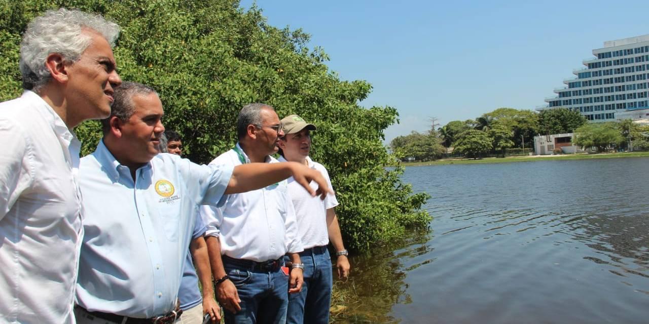 Cardique instalará aireadores en El Laguito para oxigenar ecosistema