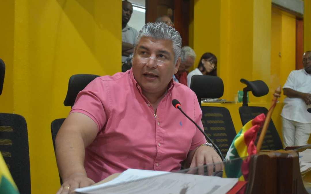Concejal Oscar Marín solicita explicación sobre 1200 millones invertidos en Cartagena
