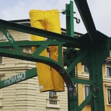 Porta Genova Installazioni sul ponte