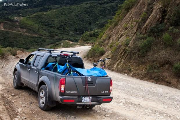 camino antiguo a Cochabamba