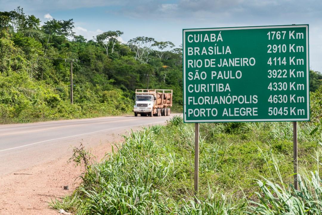 Vejnettet udviddes overalt i Latinamerika. Foto Henrik Egede-Lassen