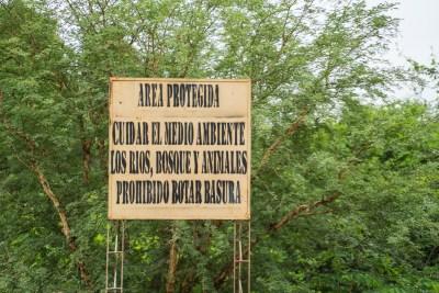 Fredet område med tørskov