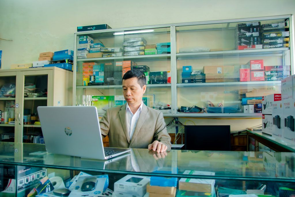 People technology shopping business