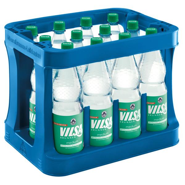 Vilsa – Medium Kasten 12 x 1,0L Mehrweg